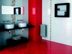 Peindre salle de bain sur pinterest meubles de salle de for Peindre un carrelage mural