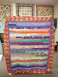 supposedly this site will have a tutorial for making it into a king size quilt