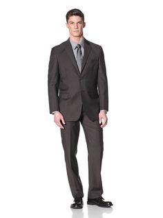 61% OFF Yves Saint Laurent Men\'s Pinstripe Suit (Brown)