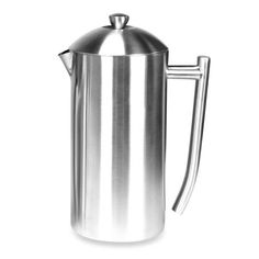product image for Frieling Insulated Stainless Steel French Press in Brushed Finish