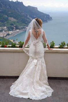 Ravello Events Wedding Planner on the Amalfi Coast: Civil ceremony in Ravello Town Hall Garden