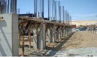 Infraestructura: parte de la construcción ubicada bajo el nivel del suelo.