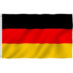 ANLEY [Fly Breeze] 3x5 Foot Germany Flag Vivid Color and UV Fade... ❤ liked on Polyvore featuring home, outdoors, outdoor decor, garden decor and outdoor garden decor