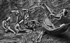 Sebastião Salgado Mulheres da tribo Zo'e, na Amazônia brasileira