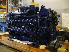 16V4000 MTU Marine. Marine Diesel Engine, Marine Engineering, Big Huge, Oil And Gas, Fire Trucks, Transportation, Ships, Boat, History