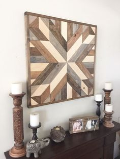Reclaimed wood wall art rustic wall decor by NorthernOaksDecorCo Barn Wood Decor, Wooden Barn, Reclaimed Wood Wall Art, Farmhouse Wall Decor, Wood Wall Decor, Modern Wall Decor, Rustic Wall Decor, Rustic Walls, Wooden Decor