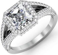 Vintage-Engagement-Rings-pave style