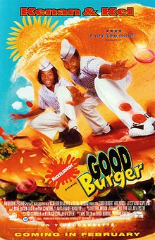 Good Burger is a 1997 comedy film produced by Nickelodeon Movies and released by Paramount Pictures, directed by Brian Robbins and produced by Dan Schneider … Childhood Movies, 90s Movies, Great Movies, Movie Tv, Throwback Movies, Funny Movies, Kenan E Kel, Welcome To Good Burger, Mtv