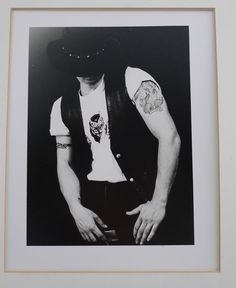 Portrait of Tommy silver print by suzi holland
