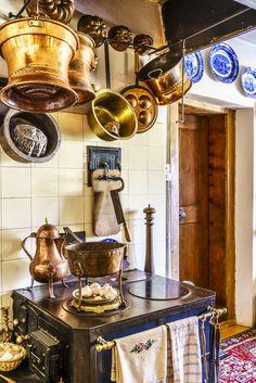 Historic Kitchen Drink Recipe Book, Landmark Hotel, Hotels, Switzerland, Copper, Kitchen, Books, New Books, Time Travel