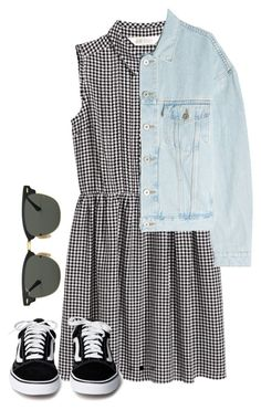 """""""#330"""" by mintgreenb on Polyvore featuring Yeezy by Kanye West and Ray-Ban"""