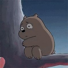 Cartoon Wallpaper, Sad Wallpaper, Cute Wallpaper Backgrounds, Cute Wallpapers, Cartoon Tv Shows, Cartoon Gifs, Cute Cartoon, Ice Bear We Bare Bears, We Bear