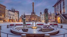 Radetzky und Franz Josef Advent feierten hier schon Advent Olmütz, die einstige Hauptstadt Mährens, ist jene Metropole, die nach Prag das zweitgrößte Denkmalschutzgebiet im ganzen Land aufzuweisen hat. Leben Advent, Kaiser Franz Josef, Mansions, House Styles, Home Decor, Field Marshal, Sundial, Prague, Remodels