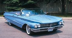 1960 Buick Invicta convertible.  After two beaters, this was the first auto I truly loved.  Gas was cheap.  She had power and grace.  Six years young when I bought her.