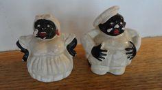 Vintage Black Americana Baker & Wife by tennesseehills