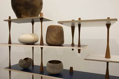 design is a state of mind by martino gamper @ serpentine sackler gallery_turnaround shelves by martino gamper with objects chosen by ernst gamperl
