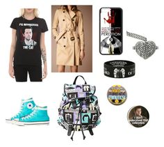 Castiel by ash102714 on Polyvore featuring polyvore, fashion, style, Burberry, Free People and supernatural