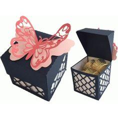 butterfly swing top box