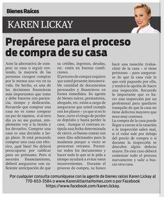 Amigos, los invito a leer mi columna en el distinguido periódico La Visión. Esta semana estaremos hablando acerca de cómo prepararse para el proceso de compra de su casa. Disfruten!