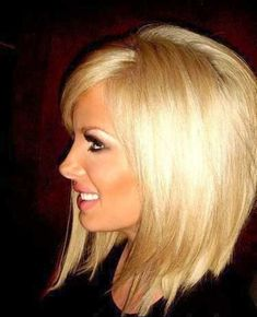 Light Blonde Hair for Mid Lenght Hair