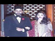 Aishwarya Rai & Abhishek Bachchan At Mukesh Ambani's Niece's Pre Wedding Party.