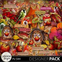 Leaves Are Floating Full Kit, a digital scrapbooking kit from MyMemories Digital Scrapbooking.