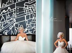 lobbi, beauti bride, thompson hotel