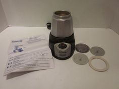 DeLonghi Alicia EMK 6 - 6 Cups Coffee Maker Black Stainless PARTS ONLY NO POT #DeLonghi