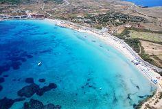 The most beautiful beaches in Malta and Gozo Most Beautiful Beaches, Beautiful Places, Malta Mellieha, Malta Beaches, Malta Gozo, Summer Pictures, Archipelago, Beautiful Islands, Aerial View