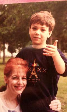 Grandma and Joshua in MA
