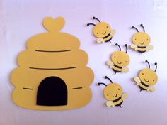 Pin the bee on the hive game!