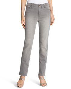 Chico's Women's So Lifting Slim-Leg Stingray Jeans