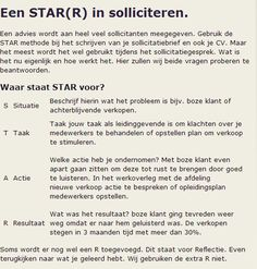 sollicitatie star Star Sollicitatie | hetmakershuis sollicitatie star