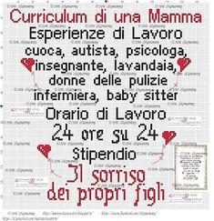 amorevitacrocette: curriculum di una mamma a punto croce