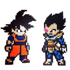 Dragon Ball Pixel Art . par FreakCreations sur Etsy
