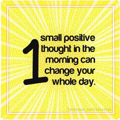 Happy Positive Thinking Day!
