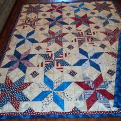 I made this Quilt of Valor for a close family friend who proudly served our country for 20 years in the US Air Force.