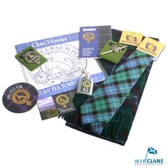 The Hunter Clan Shop on ScotClans
