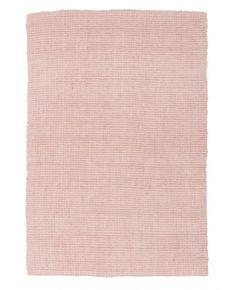 Hakalau Pale Pink Chunky Jute Rug