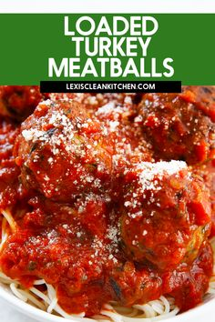 Flavored with Italian seasoning, with a touch of spinach added in, these Paleo Turkey Meatballs make for a great weeknight dinner or meal prep solution! Double or triple the batch and serve some for now and save some for later. Serve with your favorite homemade or store-bought marinara and spaghetti squash and you've got the perfect lightened-up dinner. Easy Paleo Dinner Recipes, Gluten Free Recipes For Breakfast, Tasty Meals, Fast Healthy Meals, Nutritious Meals, Easy Healthy Recipes, Paleo Recipes, Delicious Recipes, Healthy Eating