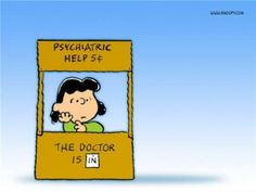 'The Psychiatrist is Real In', Lucy Van Pelt Dispenses Advice.for a Nickel! But what she Really Wants is Real Estate. Charlie Brown and the Peanuts Gang. Lucy Van Pelt, Peanuts Cartoon, Peanuts Gang, Peanuts Comics, Psychiatric Help, Snoopy Wallpaper, Peanuts Characters, Book Characters, Cartoon Characters