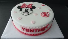 Minnie Mouse taart