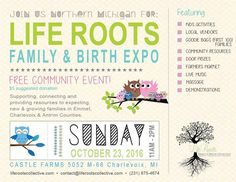 Free family & birth expo held at Castle Farms on Sunday, October 23, 2016 from 11a-2p.