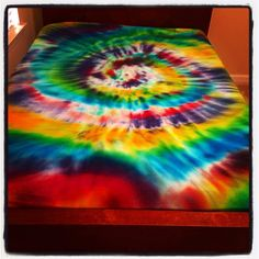 Custom Designed Tie-Dye Bed Sheet Sets on Etsy, $66.00