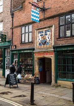 Hairy Fig and Merchants Hall - Fossgate, York, England