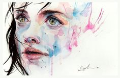 im obsessed with water color artist because its one of the only medias i never picked up myself.  envy