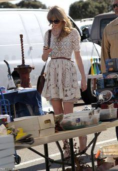 vestido de circulos