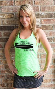 Paradise Is just a Paddle Away Racerback by NirvanaClothingCo, $26.00 Sup Tank Shirt Stand Up Paddle Boarding