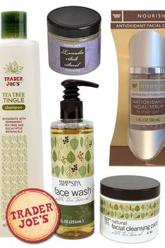 I love me some Trader Joe's. Nearly everything they sell is a winner in my book, and—no surprise—that extends to beauty products as well. I've pulled together my 10 favorite Trader Joe's beauty buys, so the next time you're shopping, grab some of these awesome skincare products along with your Two Buck Chuck!