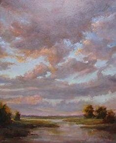 "Peace of Quiet by Barbara Davis Oil ~ 20"" x 16"""